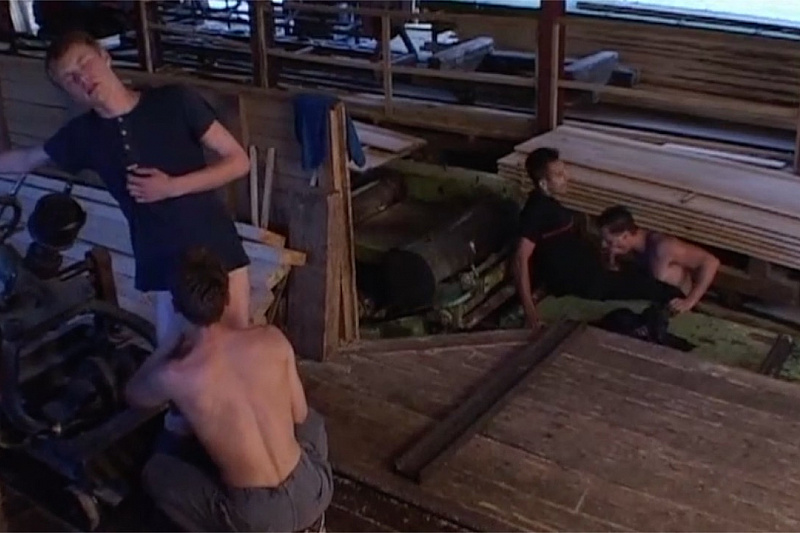 Horny Workers Abandon Their Posts For A Hot, Spunky Fuck-Fest!